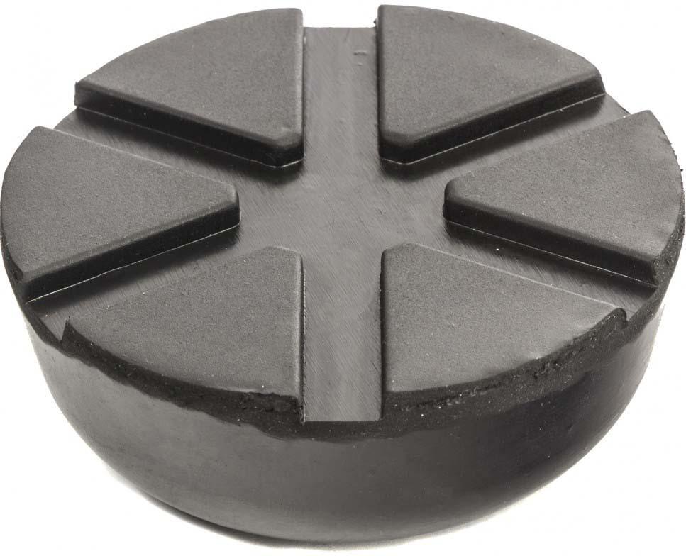 Резиновые подкладки на домкрат Matrix, 50910, черный, 8,9 х 6 х 3,5 см
