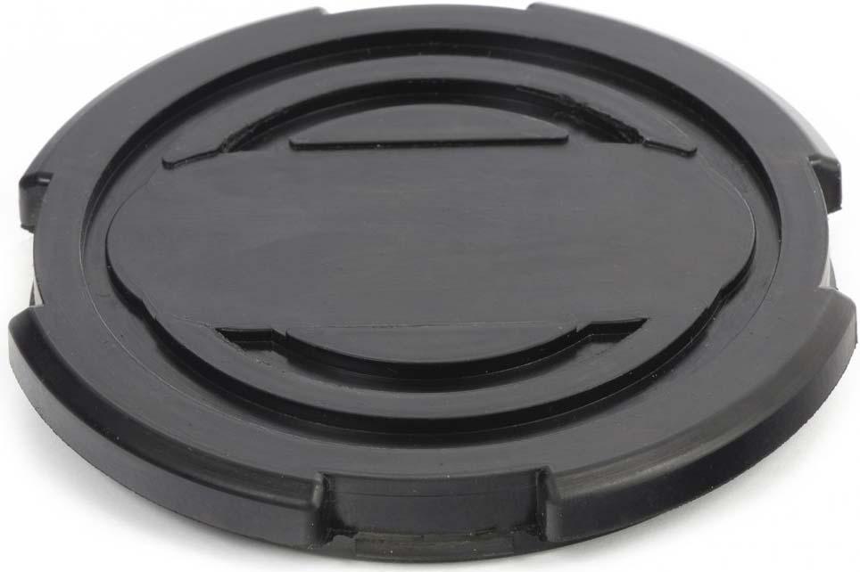 Резиновые подкладки на домкрат Matrix, 50912, черный, 10 х 9 х 1,2 см