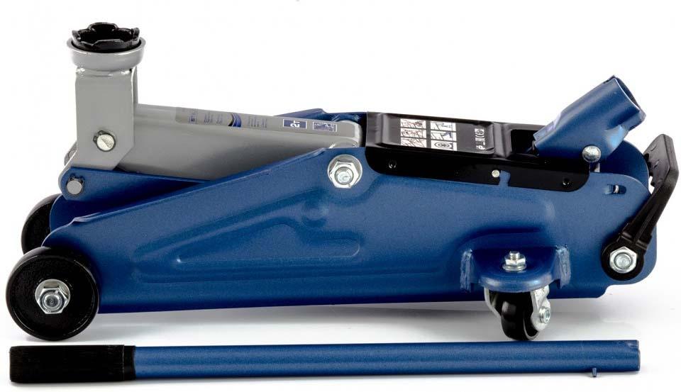 Подкатной домкрат Stels, 51127, синий, 2 т, высота подъема 14-34 см гидравлический домкрат autoluxe подкатной грузоподъемность до 3 тонн красный
