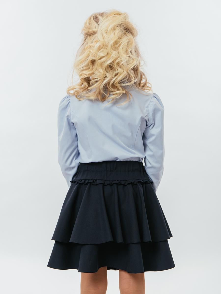 Блузка TForma/ReForma MD8282_13, голубой 122 размер TForma/ReForma
