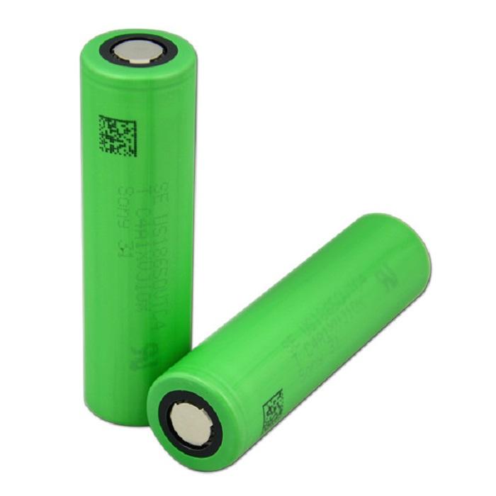Аккумуляторная батарея SONY VTC6, типоразмер 18650 3000mah 66,5 мм, зеленая 18650 9800mah 3 7 v литий ионный аккумулятор для светодиодный фонарик факел