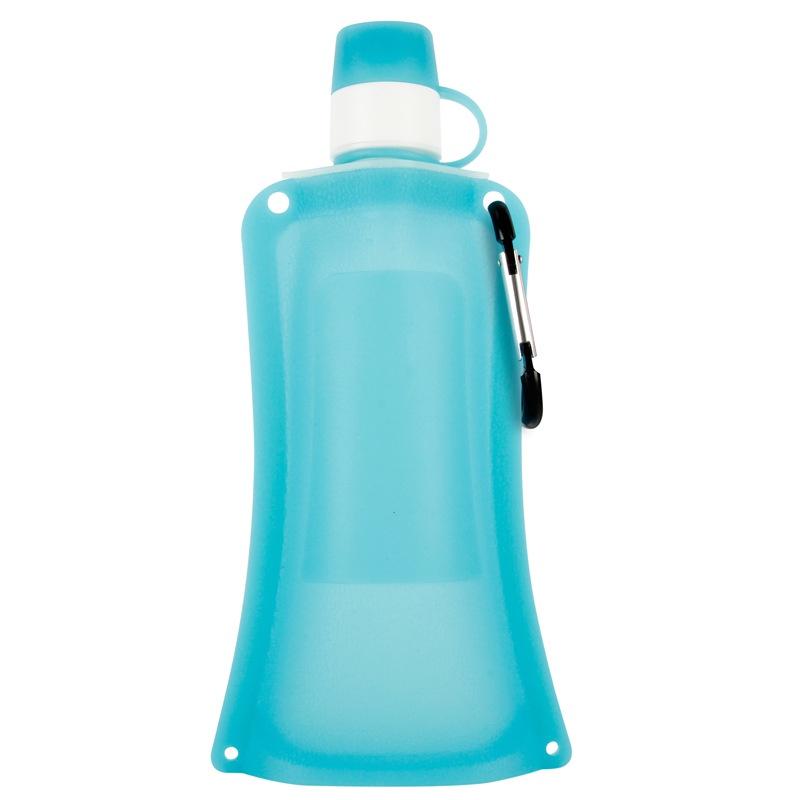Силиконовая складная бутылка-мешок для воды на велосипед, спортивная бутылка для воды складная (гол.)