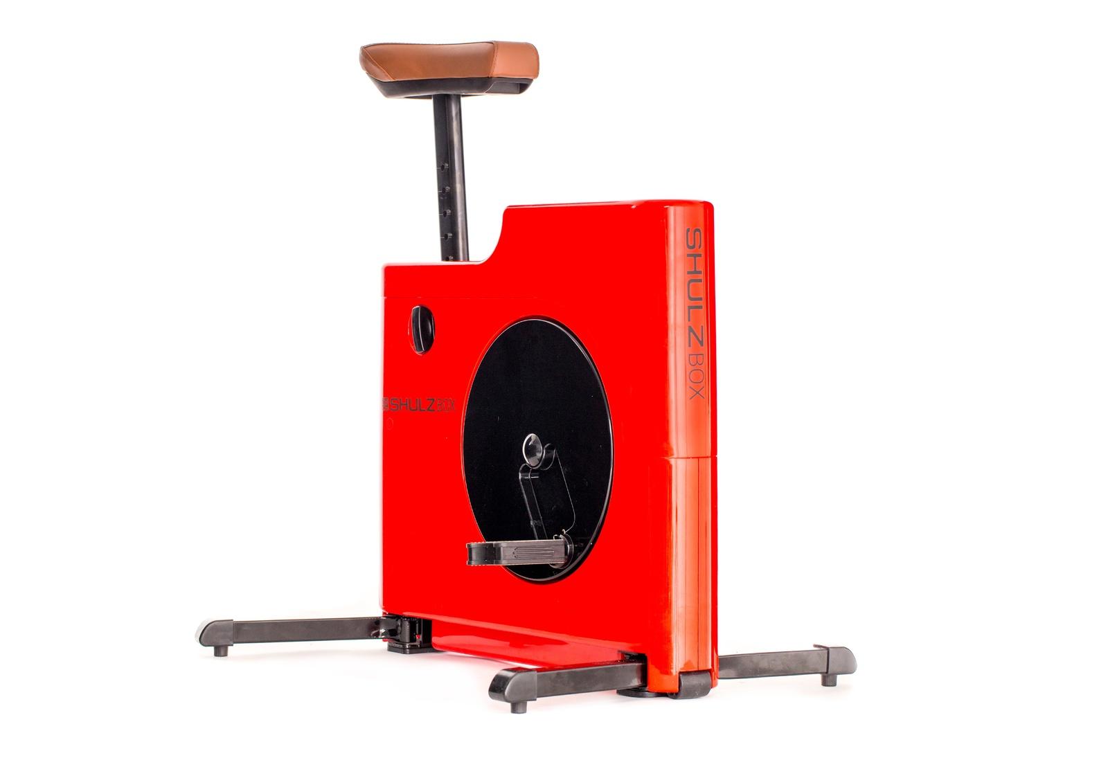 Велотренажер компактный SHULZBOX, красный цена