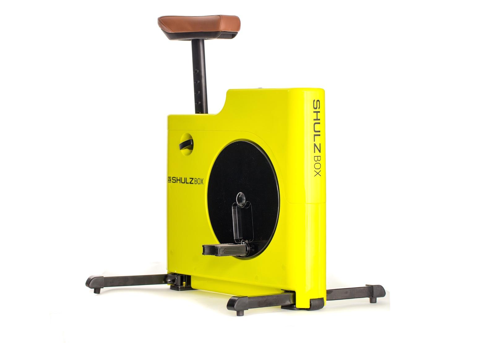 Велотренажер компактный SHULZBOX, желтый
