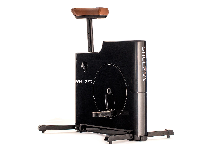 Велотренажер компактный SHULZBOX, черный цена