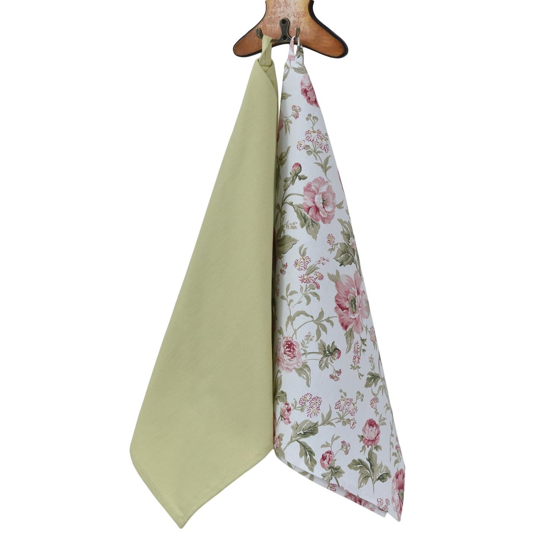 Полотенце English rose,40х70, зеленый,в наборе 2 шт полотенце english rose 4 шт fresca design полотенце english rose 4 шт page 9