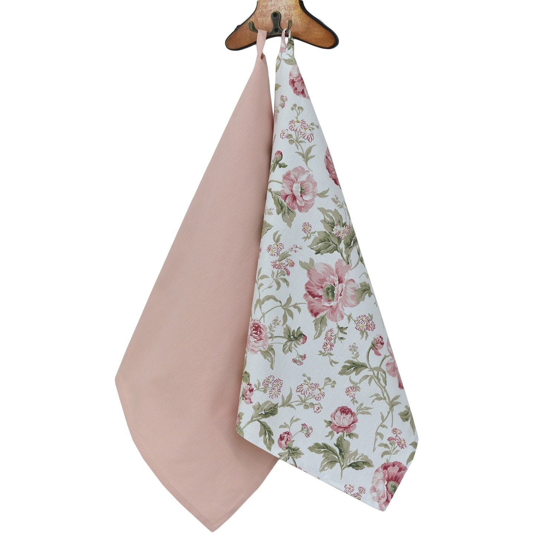 Полотенце English rose,40х70,розовый,в наборе 2 шт полотенце 2 шт fresca design полотенце 2 шт