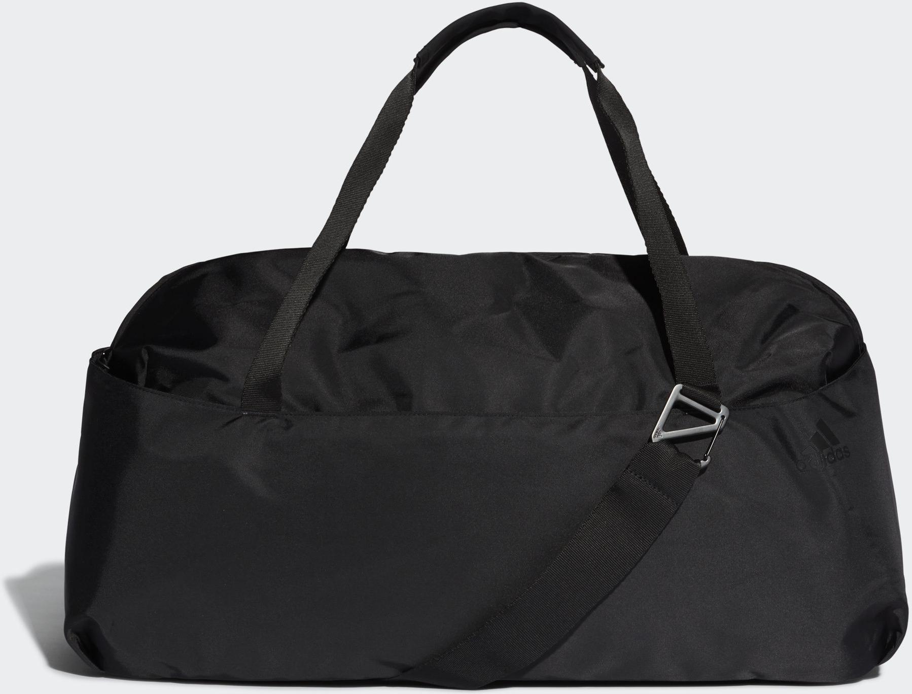 Сумка женская Adidas W Tr Id Duf, цвет: черный. DT4068 свитшот женский adidas w id glory crw цвет черный dp3909 размер l 48 50