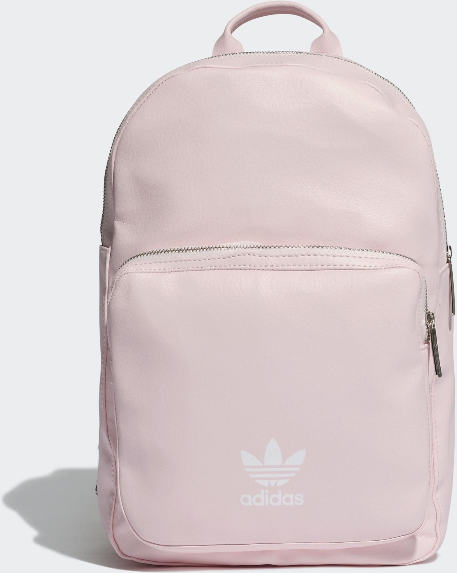 Рюкзак Adidas Bp Cl M Pu, цвет: розовый. DU6809 цена