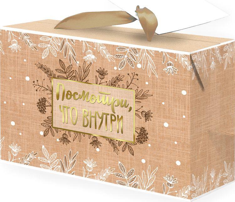 Бумажный пакет-коробка Magic Home Посмотри, что внутри, 79671, разноцветный, 15 х 9 см ликсо вячеслав владимирович техника посмотри что там внутри