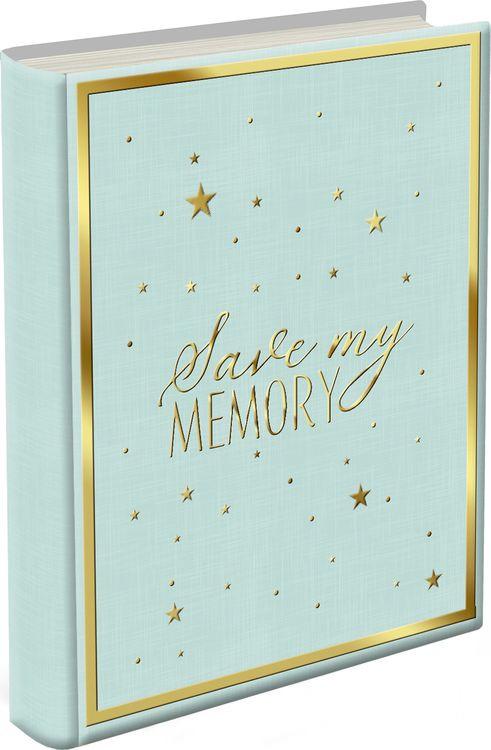 Фотоальбом магнитный Magic Home Воспоминания, 79686, зеленый, на гребне, 10 листов, 24 х 29 х 2,7 см фотоальбом magic home love 77722