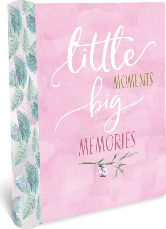 Фотоальбом магнитный Magic Home Моменты, 79688, розовый, на гребне, 20 листов, 24 х 29 х 2,7 см фотоальбом magic home love 77722