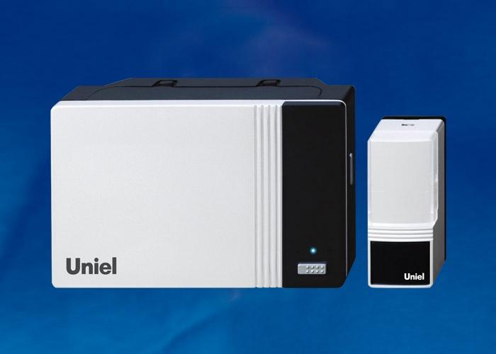 Звонок беспроводной UDB-006W-R1T1-32S-100M-WH, белый цвет звонок tdm electric народный беспроводной 32 мелодии белый