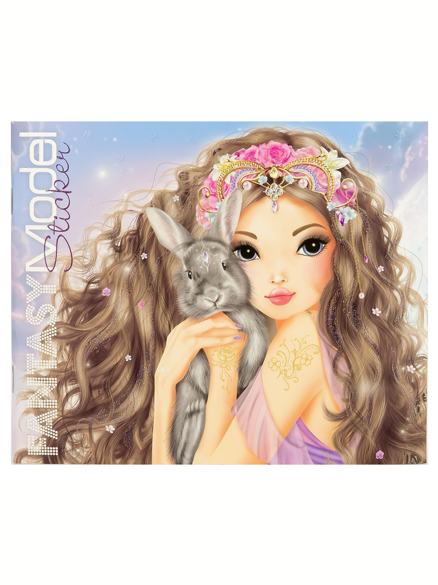 Набор наклеек Depesche TOPModel Fantasy (046462/006462) набор письменных принадлежностей depesche topmodel макияж liv 045675 005675