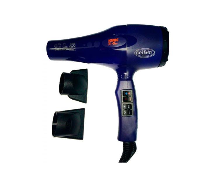 Фен для волос Coifin Фен Classic CL5R Ionic 03113-04, синий, 2300W цена
