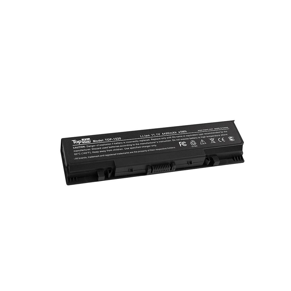 Аккумулятор для ноутбука TopON Dell Inspiron 1520, 1521, 1720, 1721, 530s, Vostro 1500, 1700. 11.1V 4400mAh 49Wh. PN: FK890, GK479., TOP-1520 origianl clevo 6 87 n350s 4d7 6 87 n350s 4d8 n350bat 6 n350bat 9 laptop battery