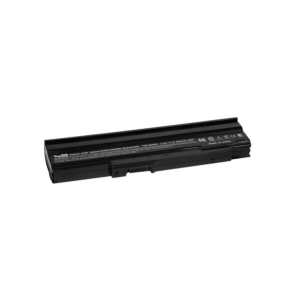 Фото - Аккумулятор для ноутбука TopON Acer Extensa 5235, 5635Z, 5635ZG, eMachines E528. 11.1V 4400mAh 49Wh. PN: AS09C31, AS09C75., TOP-5635ZG аккумулятор