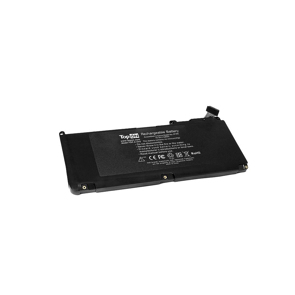Аккумулятор для ноутбука TopON Apple MacBook 13 A1331. 10.8V 5350mAh 58Wh. PN: A1331, 020-6580-A., TOP-A1342 аккумулятор для ноутбука apple macbook 13 a1331 2011 2012 a1342 mb374 mb375 mc024 mc118 mc207ll a mc233 mc234 mc371 mc372 mc373 series 5350мач 10 8v topon top a1342