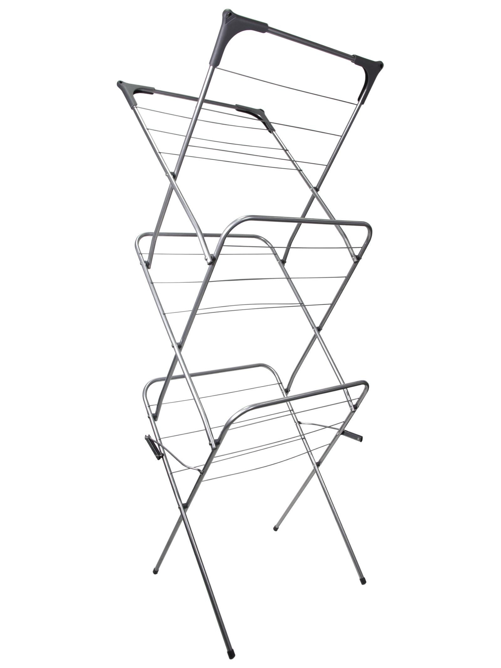 Напольная сушилка UniStor Вертикальная сушилка для белья, 210143, Пластик и сталь