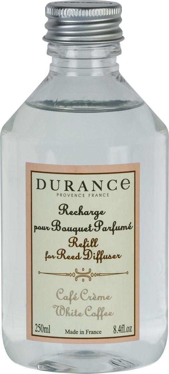 Ароматизатор интерьерный Durance Белый кофе, 455124, 250 мл ароматизатор интерьерный durance сосны прованса 045550 250 мл