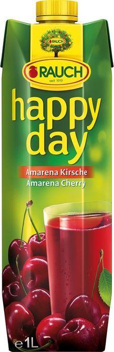 Нектар Rauch Happy Day Амарена Вишня, 1 л zeegg вишня нектар 0 2 л