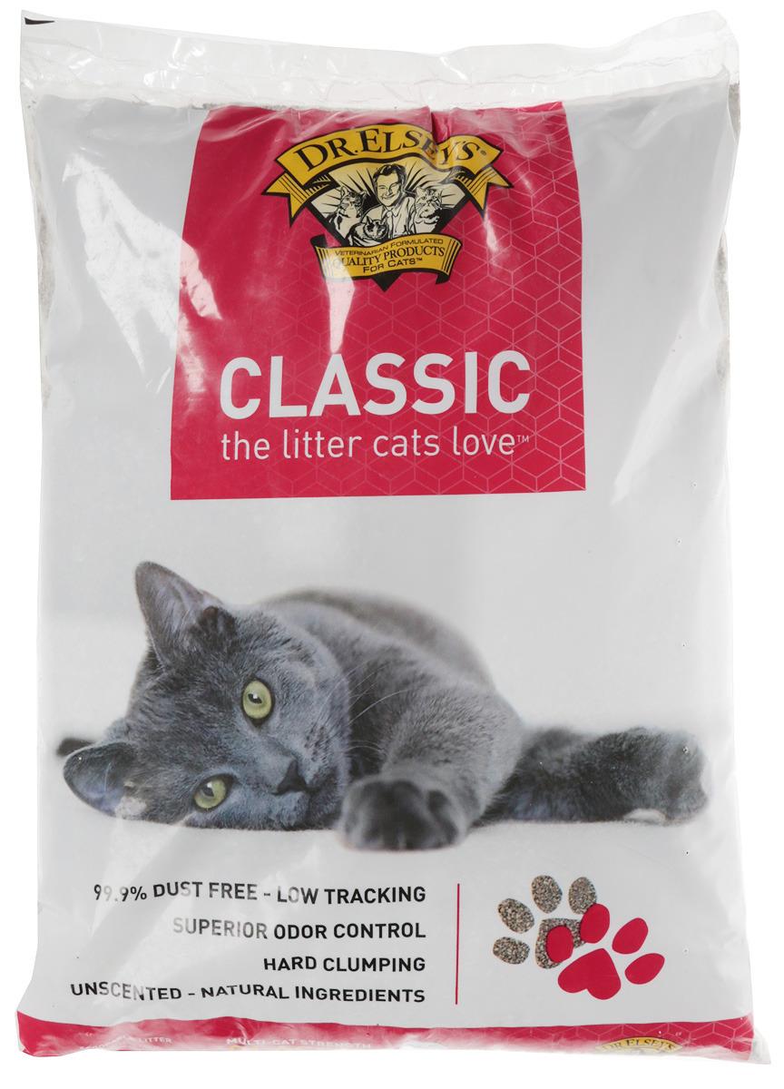 Наполнитель Dr.Elsey's PC Classic для кошачьего туалета, комкующийся, 8,16 кг наполнитель для кошачьего туалета catsan 9572 ультра комкующийся 5л