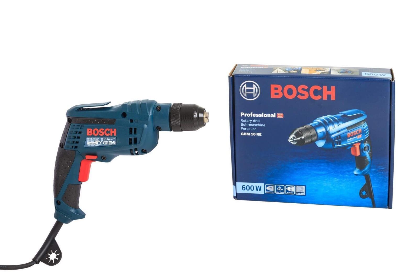 Дрель-шуруповерт Bosch  GBM 10 RE, 0.601.473.600
