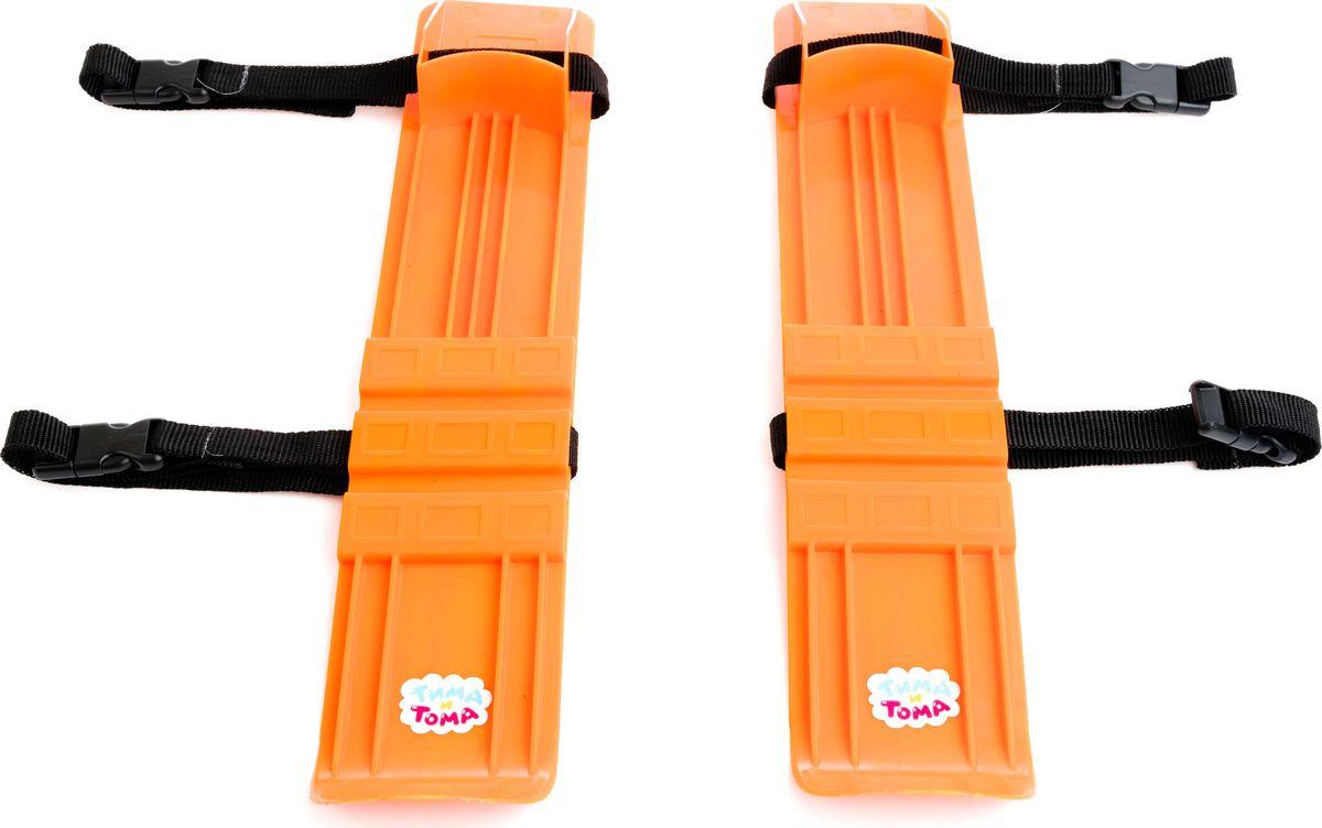 Лыжи детские Пластмастер Лыжник, 40063 пластмастер мини трек малютка