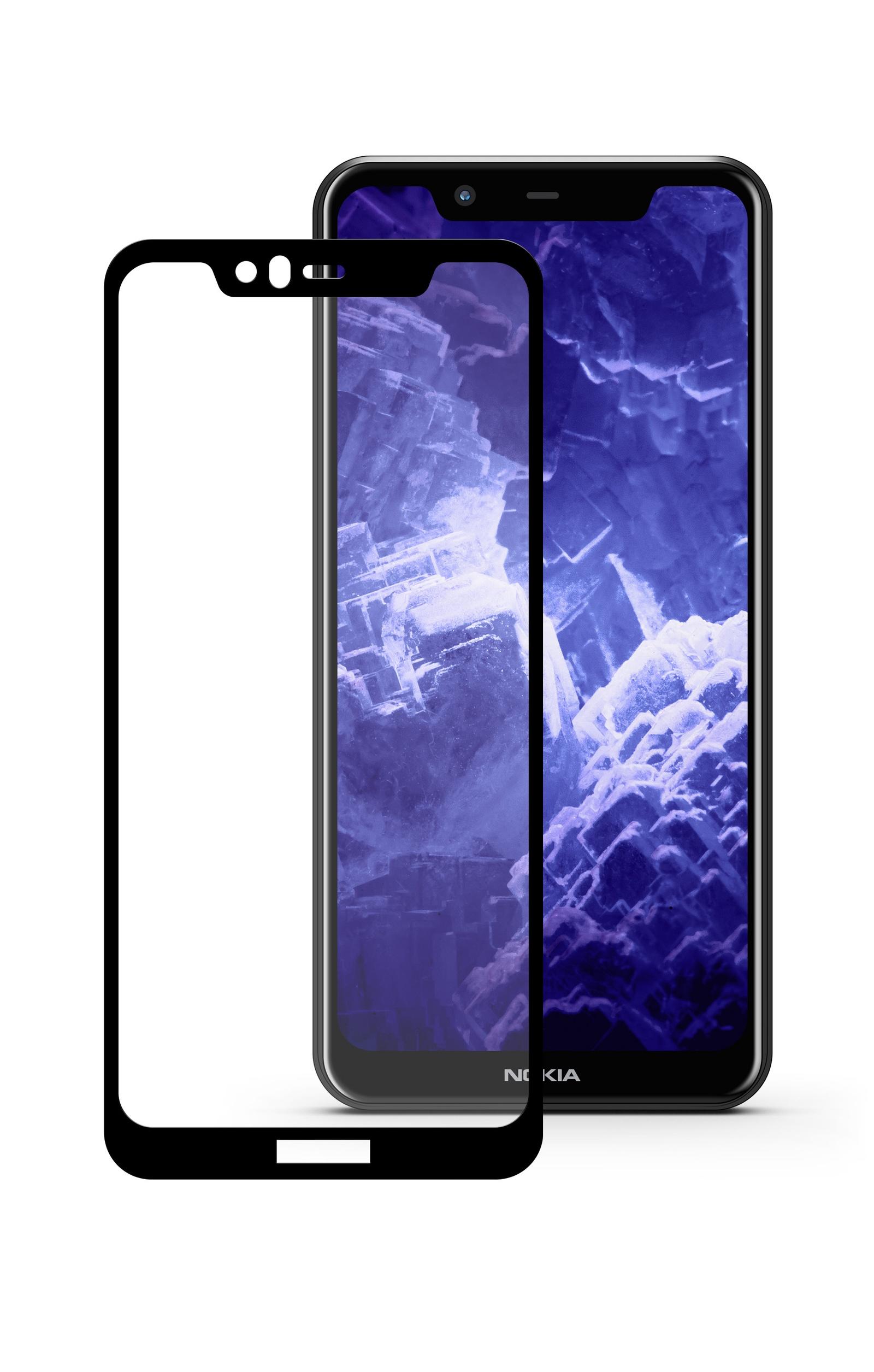Защитное стекло Mobius Nokia 5.1 Plus, черный