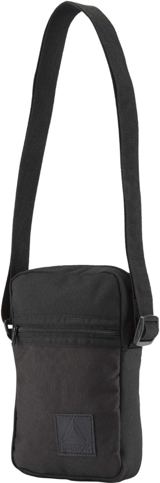 9854ea5d Сумка Reebok Style Found City Bag, цвет: черный. DM7176 — купить в  интернет-магазине OZON.ru с быстрой доставкой