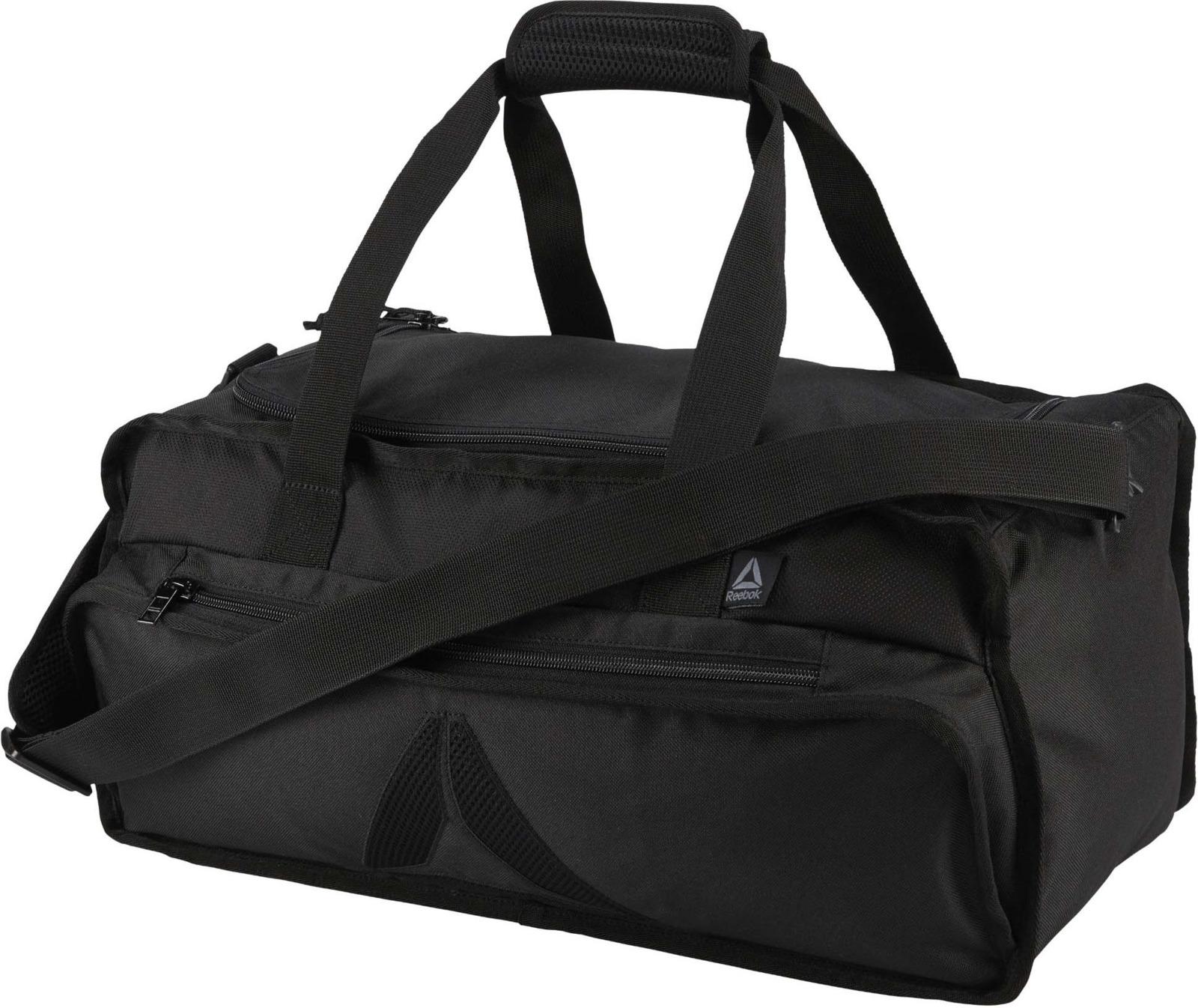 Сумка Reebok Act Enh Grip M, цвет: черный. DU2906 куртка мужская reebok od dwnlk jckt цвет черный d78631 размер m 50