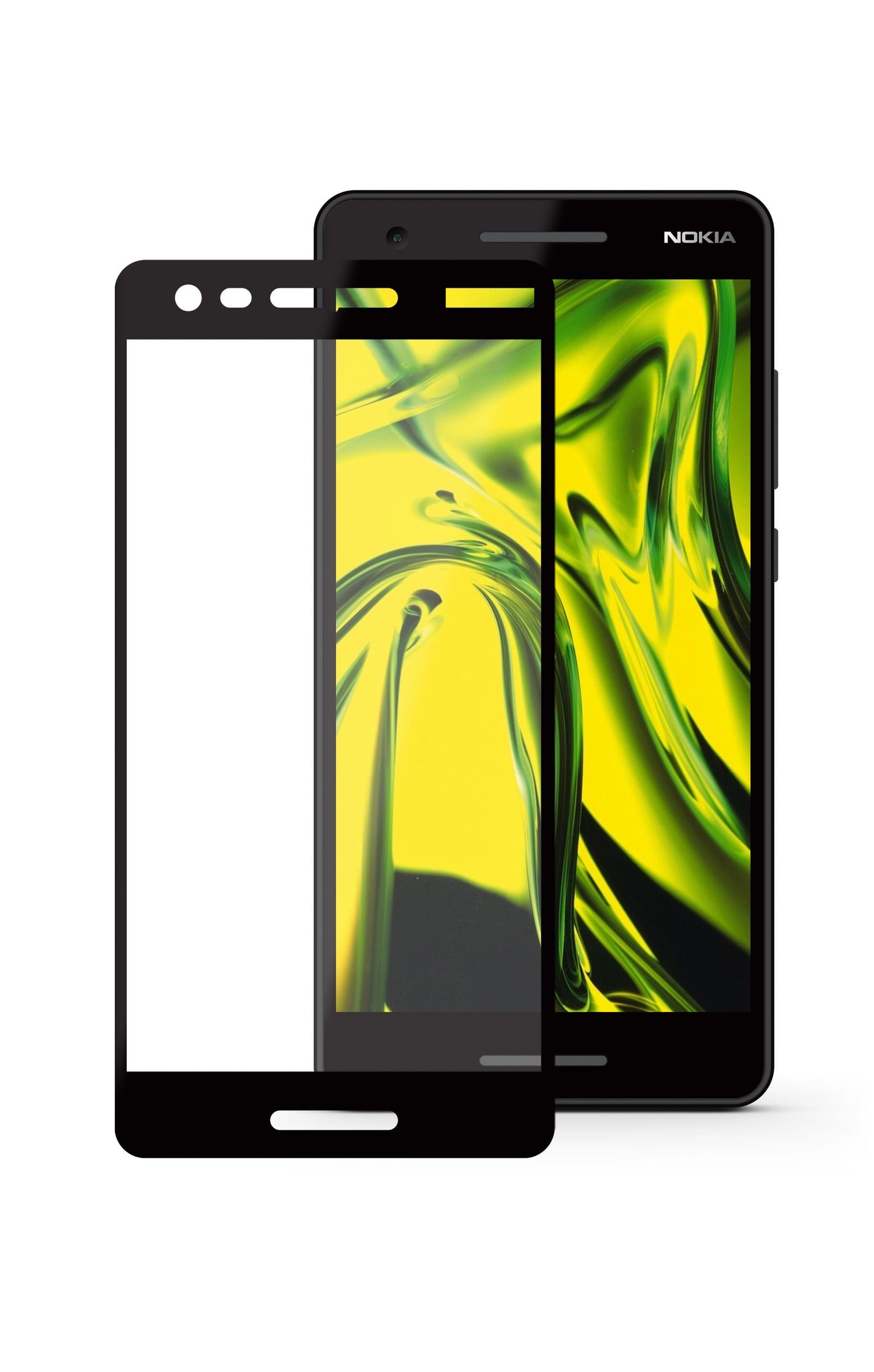 Защитное стекло Mobius Nokia 2.1, черный