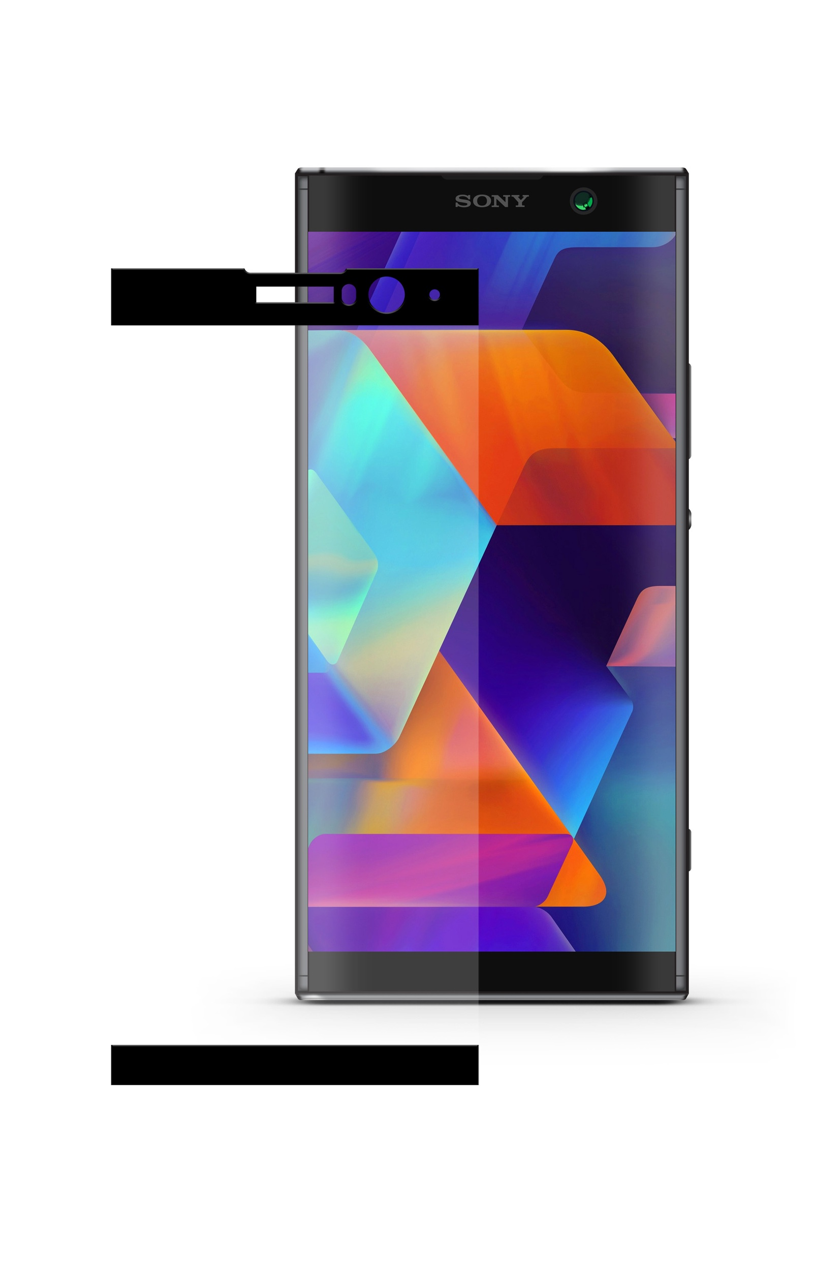 Защитное стекло Mobius для Sony Xperia XA2 Plus 3D Full Cover (Black) аксессуар защитное стекло mobius для honor 7c pro 3d full cover black 4232 208