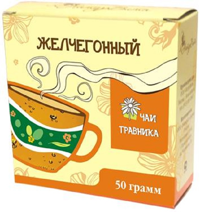 Чай листовой НатурВита Желчегонный, Пижма, Листья крапивы, Душица, Девясил, Корень лопуха, Шиповник лекарство желчегонное