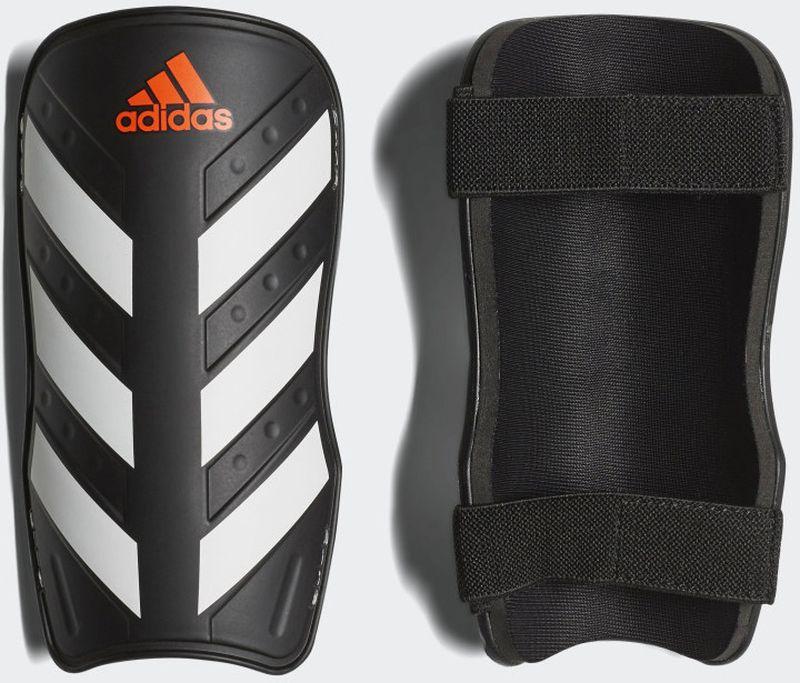 цена на Щитки Adidas Everlite, CW5559, черный, белый, размер M