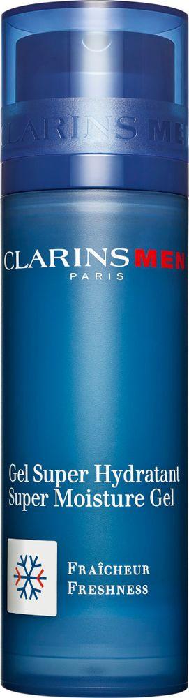 Гель для лица Clarins Men Gel Super Hydratant, интенсивно увлажняющий, 50 мл