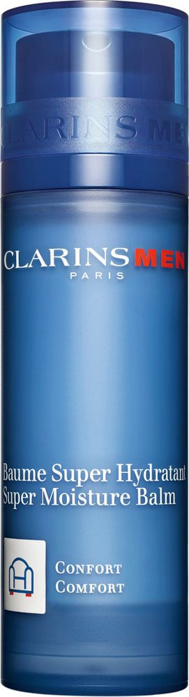 Бальзам для лица Clarins Men Baume Super Hydratant, интенсивно увлажняющий, 50 мл