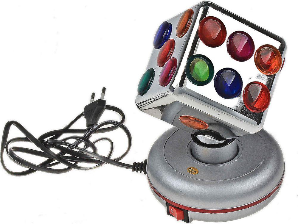"Ночник Risalux ""Кубик"", 503908, разноцветный, 18 х 13 х 13 см"