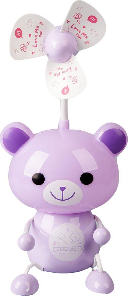 "Ночник Risalux ""Мишка"", 2553326, фиолетовый, 9 х 15 х 43 см"