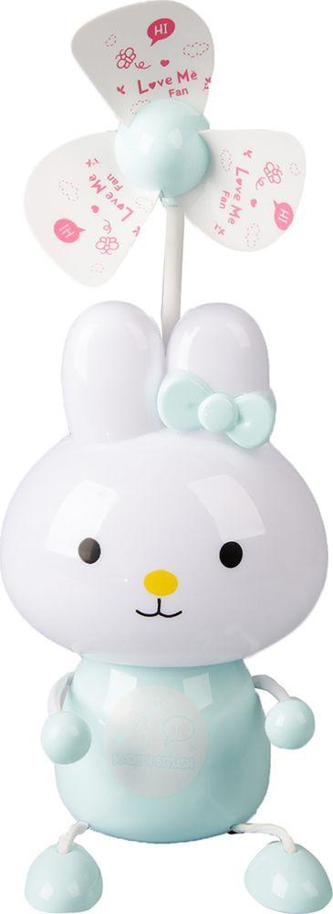 """Ночник Risalux """"Счастливый кролик"""", 2553358, разноцветный, 9 х 12 х 45 см"""