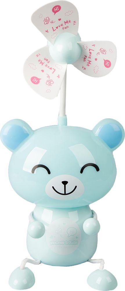 "Ночник Risalux ""Счастливый мишка"", 2553359, голубой, 9 х 12 х 45 см"
