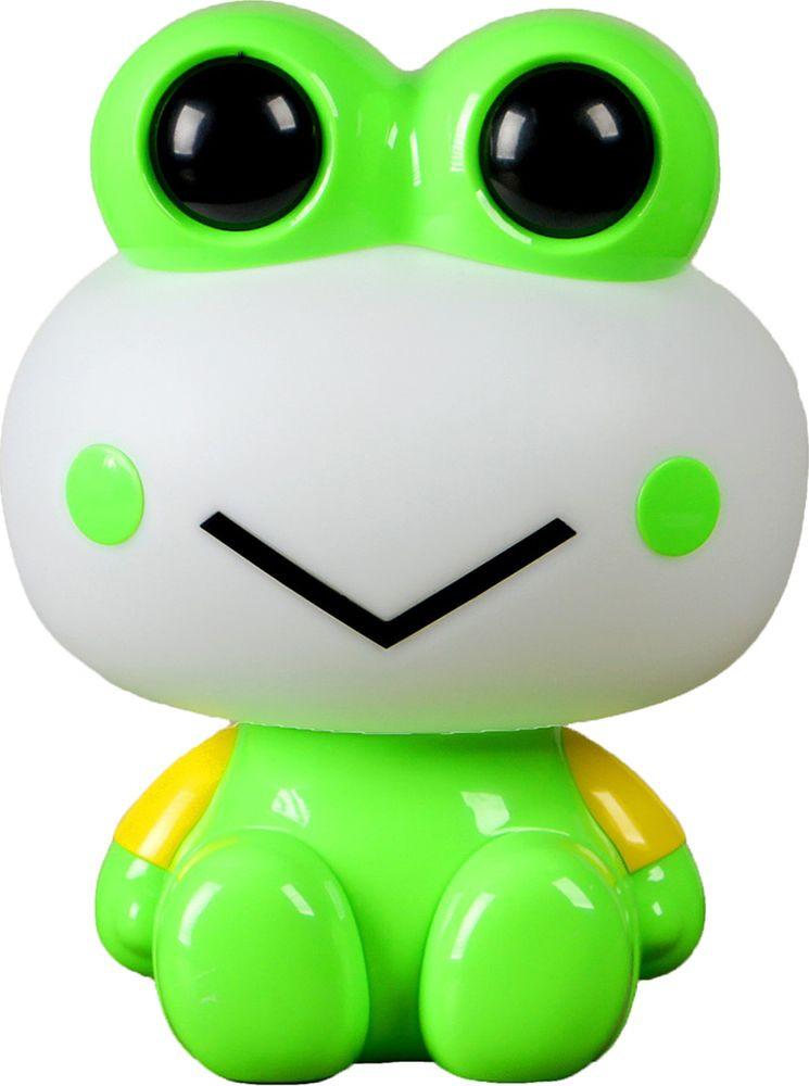 "Ночник Risalux ""Лягуха"", 2802348, зеленый, 25 х 19 х 12 см"