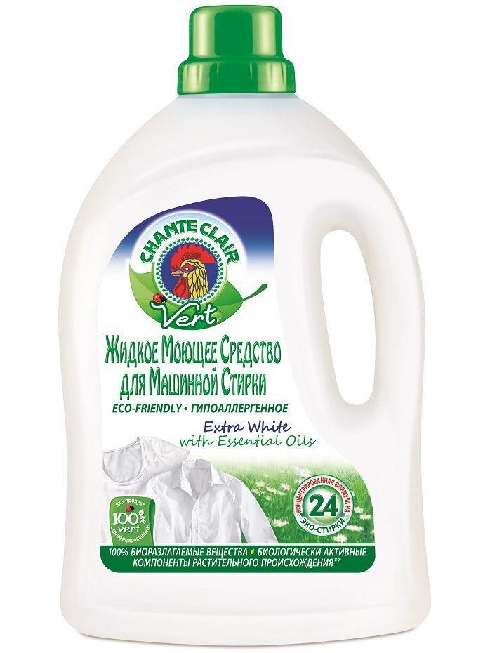 Жидкое средство для стирки Chanteclair для машинной стирки для белого белья, 224-296VP7RU жидкое средство для стирки белого белья лимон frosch 2 л