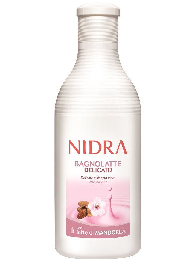 Пена для ванны деликатная с миндальным молоком, Nidra, 750мл, 186011 accentra пена для ванны accentra snowfall серии starlight 5036717