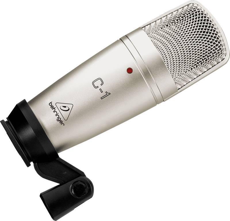 BEHRINGER C-1 - студийный конденсаторный микрофон студийный микрофон behringer c 2 studio condenser microphones