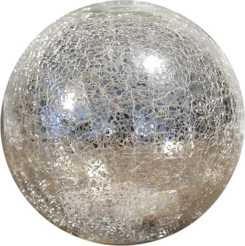 "Ночник Risalux ""Шар"", 3742829, серебро, 15 х 15 х 14 см"