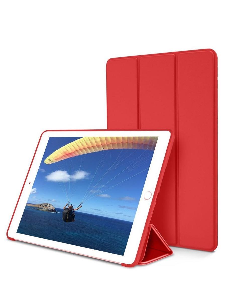 Чехол книжка для iPad 2/3/4. Красный
