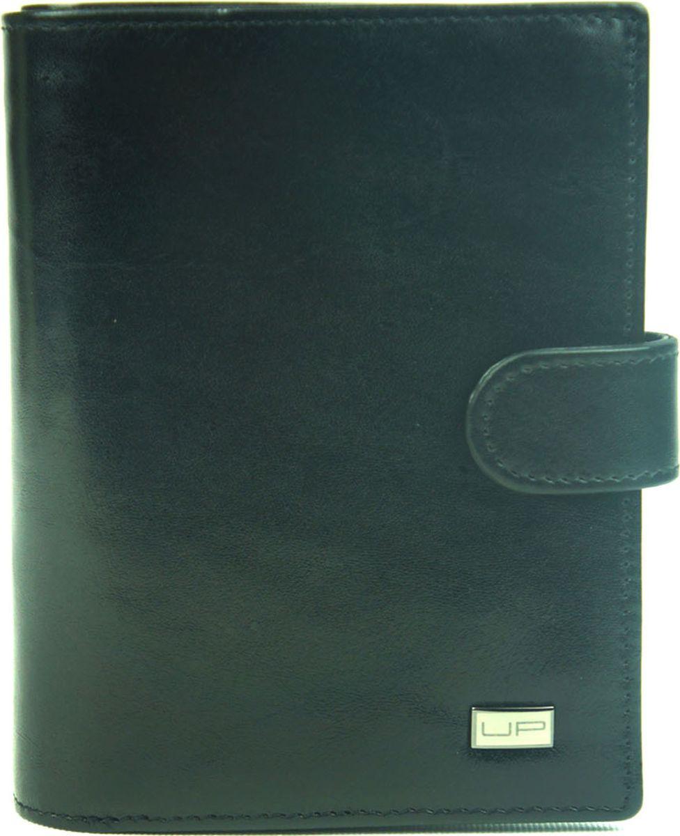 Портмоне мужское UFO People, 53001-1, черный портмоне 4you мужское 323 1001b 1 безразмерный