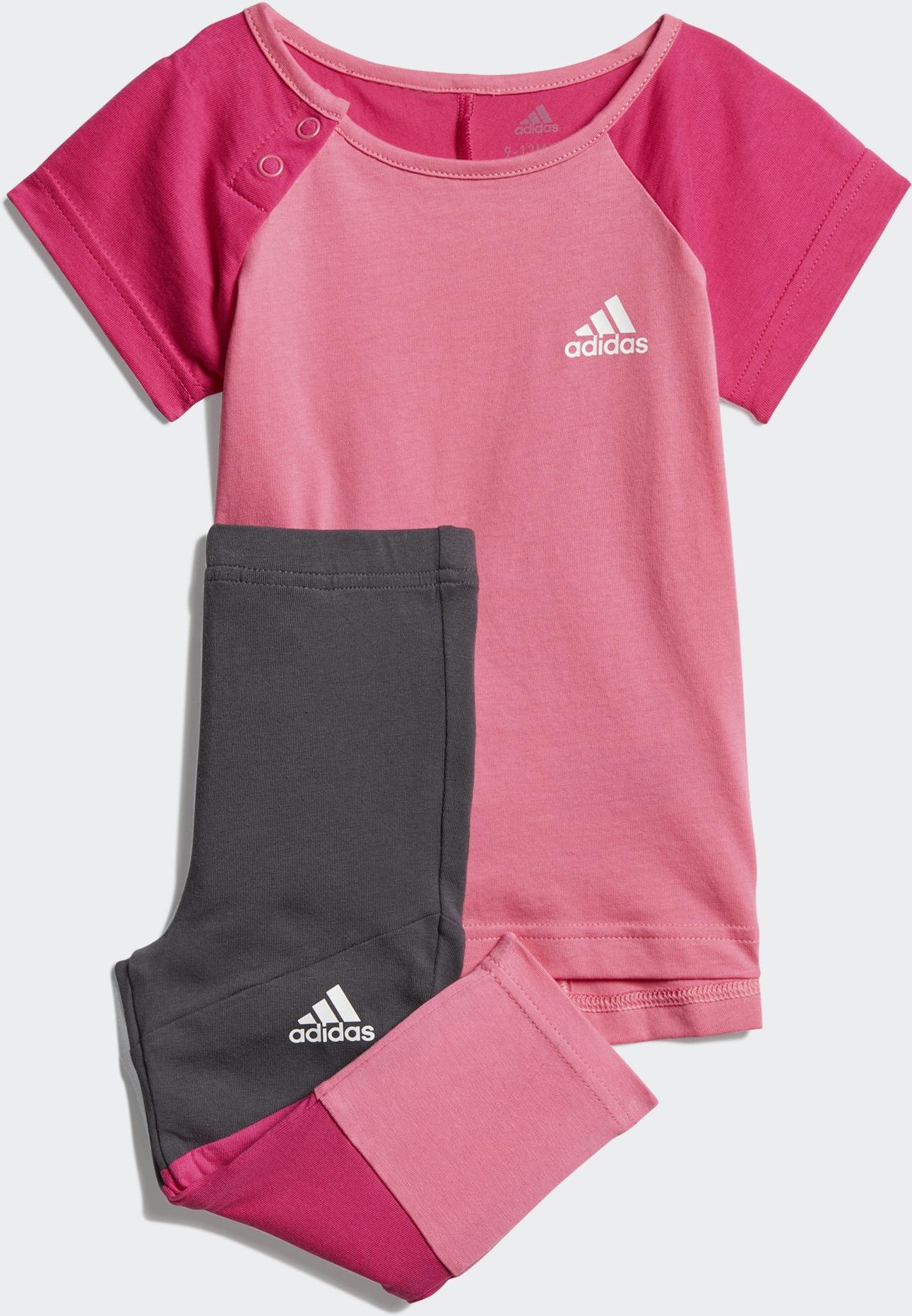 Спортивный костюм adidas I Mm Tight Set спортивный костюм для девочки adidas i mm tight set цвет розовый темно серый dv1252 размер 86