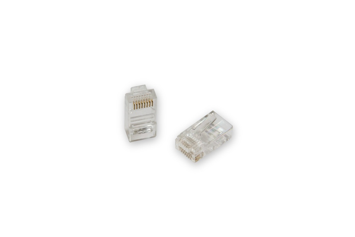 Коннектор Greenconnect GA-PLUG5WG-10, GA-PLUG5WG-10, прозрачный